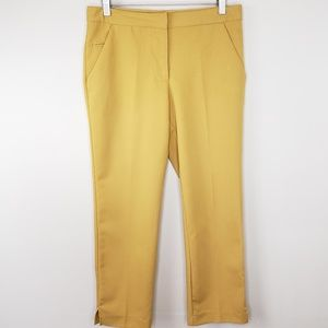 Jules & Leopold | Mustard Cropped Pants